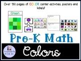 Pre-K Math Colors Pack
