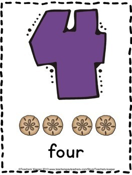Pre - K Math Counting Worksheets Aligned with the Common Core