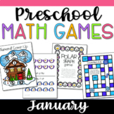 Pre-K Math Games for January