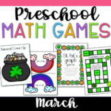 Pre-K Math Games for March