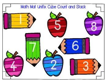 Pre-K Math Mat