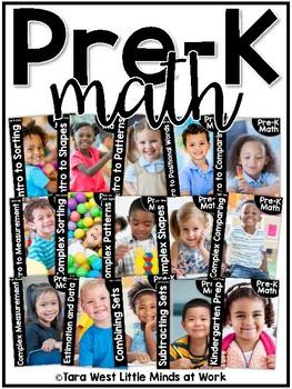 Pre K Math Preschool Math Curriculum Units Growing Bundled By Tara