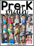 Pre-K Math (Preschool Math) Curriculum Units GROWING BUNDLED