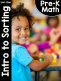 Pre-K Math (Preschool Math) Unit One: Introduction to Sorting