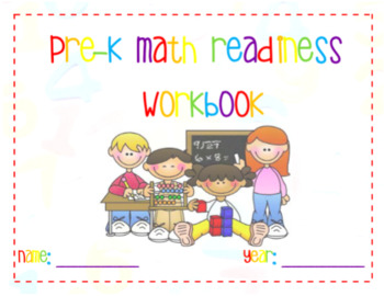 Pre-K Math Readiness Workbook