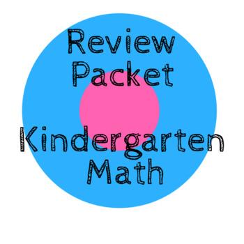 Pre-K Math Review/Kindergarten Foundational Math Skills