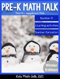 Pre-K Math Talk Part 1 - Number ID Winter Edition
