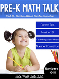 Pre-K Math Talk Part 1 - Number ID and Number Formation