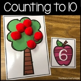Math Activities: Counting to Ten