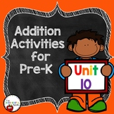 Pre-K Math Unit 10: Addition with Sums to 10
