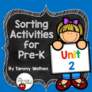 Pre-K Math Unit 2: Sorting