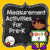 Pre-K Math Unit 7: Nonstandard Measurement