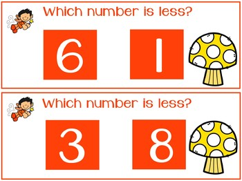 Pre-K Math Unit 9- Comparing Numbers