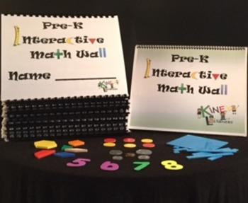 Pre-K Interactive Math Wall