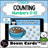 Pre-K Math Winter Boom Cards™   Counting Boom Cards™0-10 (Marshmallows)