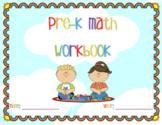 Pre-K Math Workbook
