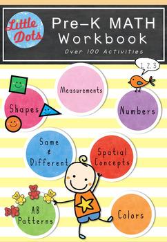 Pre-K Math Workbook (Bundle Set)