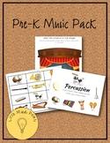 Pre-K Music Pack