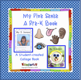 My 5 Senses PreK Book
