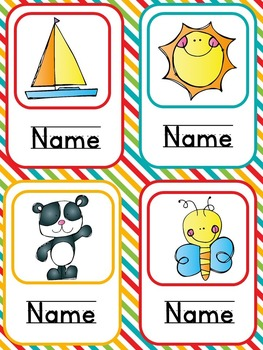 Picture Nametags