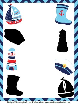 Pre-K Nautical Fun Pack
