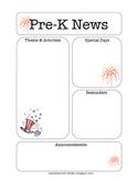 Pre-K Newsletter, July