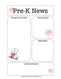 Pre-K Newsletter, July