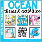 Pre-K Ocean Themed Activities