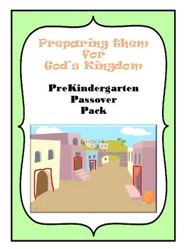 Pre-K Passover Pack BW