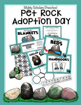 Pet Rock Adoption Day Activity Pack