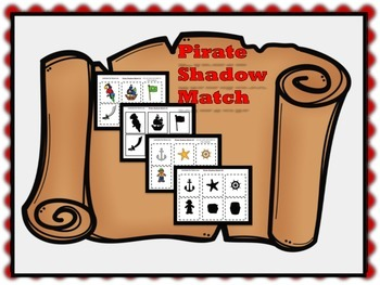 Pirate Shadow Match Pre - K
