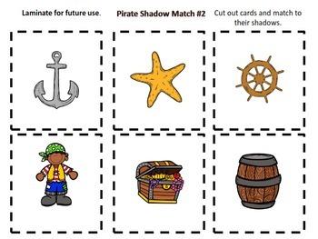 Pirate Shadow Match Pre - K