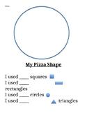 Pre-K Pizza Shape Math