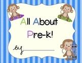 Pre-K Portfolio-Monkeys With Stripes