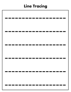 Pre-K / Pre-K ESE Testing and Tracing Sheets