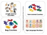 Pre-K, Preschool and Child Care Toy Labels * NAEYC Style