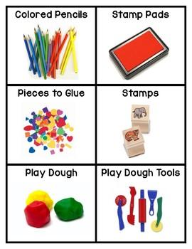 Pre-K, Preschool, and Kindergarten Classroom Labels