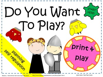 Guiding Play - Visual Prompting Cards