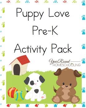 Pre-K Puppy Activity Pack