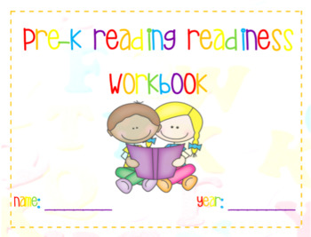 Pre-K Reading Readiness Workbook