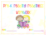 Pre-K Reading Readiness Workbook