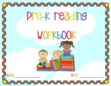 Pre-K Reading Workbook