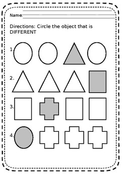 Pre-K Same and Differences