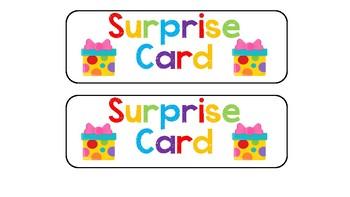 Pre-K Schedule Cards