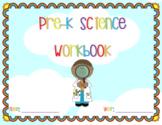 Pre-K Science Workbook