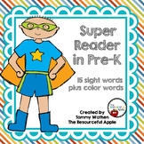 Pre-K Sight Words {Freebie}