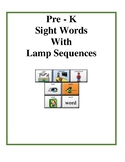 Pre-K Sight Words - LAMP Words for Life - AAC device