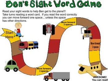 Sight Words ~ Pre-K