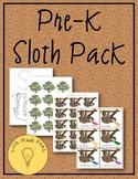 Pre-K Sloth Pack