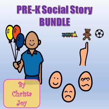 Pre-K Social Story BUNDLE
